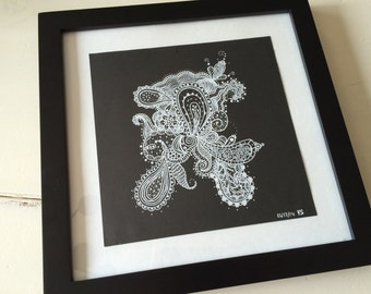 Zentangle Wall Art