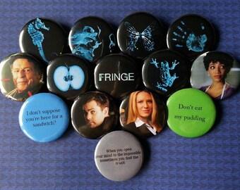 Fringe Pinback Buttons