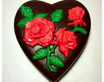 Valentine's Day Belgian Chocolate Heart Box