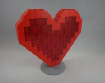 BrickCrafts Build-Your-Own LEGO® Valentine Heart