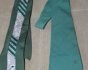 Two Vintage/Antique Neck Ties, Designers, One is a Doubllife Tie, Reversible the Other one is by Regal Casual Aire Pure Wool, Arts & Crafts