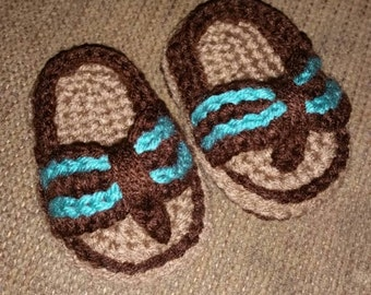 Baby Boy Crochet Sandals Shoes Summer