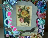 PERFECT for MOTHER'S DAY is this elegant, hand-made, one-of-a-kind greeting card/keepsake that any mother would treasure