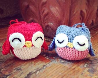 Handmade Amigurumi Owl