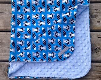 Baby Blanket, minky Blanket, stroller blanket, crib blanket