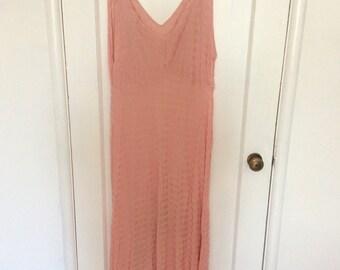 1930's Pink Sheer Night Dress