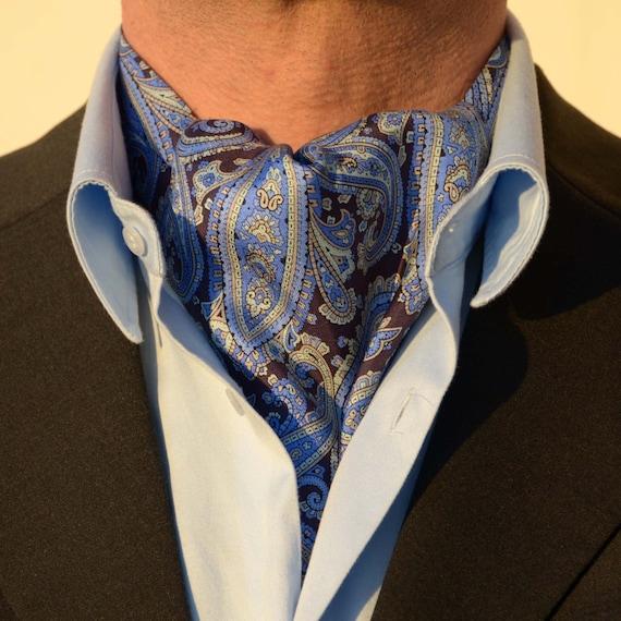 cravate foulard ascot