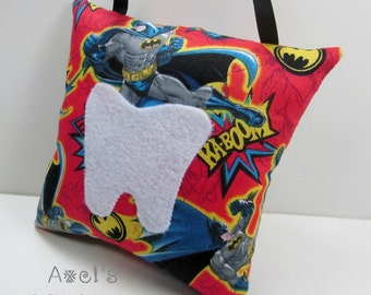 Tooth fairy pillow skylanders tooth fairy by axelskidcessories for Batman fairy door