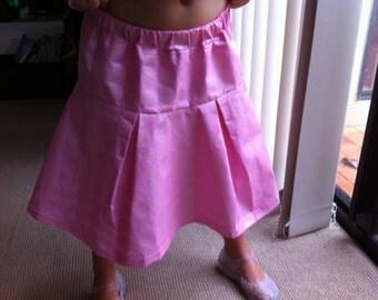 The Pink Shimmer Dot Pull-on Skirt