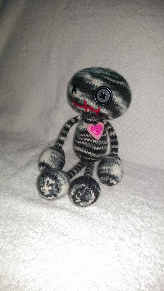 Knitting Pattern Voodoo Doll : Knitted Voodoo Doll by Darganknits on Etsy