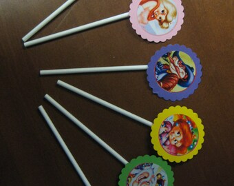 Candy Land Candyland Birthday Holiday Cupcake Toppers CL01 - 12, 24, or 36 Ct