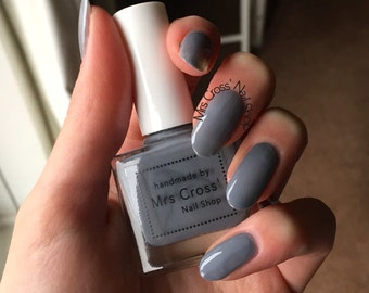 SALE - Grey Nog - handmade in the UK Indie Nail Polish - 10ml