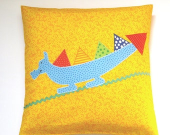 Kids pillows Dragon, Cushion cover, cushion