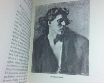 Rare 1927 Charteris Biography of John Singer Sargent American Artist Painter 1971 Reprint Edition Artist Bio XLNT Near Fine Cond