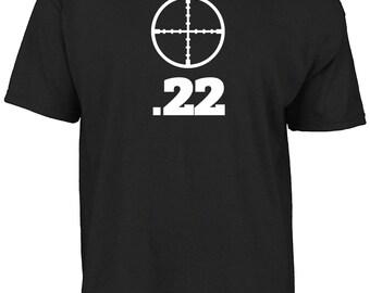 Air rifle .22 t-shirt