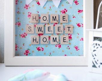 Home Sweet Home Scrabble Wall Art