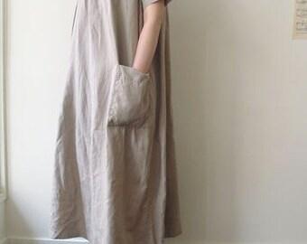 LINNET Pattern / No.80 Tablier Dress