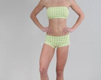 Bandeau Bra, Bandeau Top, Yoga Bandeau, Bandeau Bikini top, Bandeau Swim Top, Bikram Bandeau, Yoga Bandeau, Style #006 in Genesis