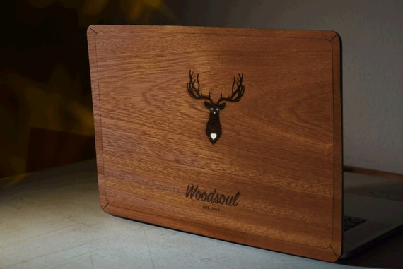wooden case for macbook pro 13 3