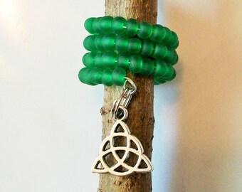 Dread Beads, 20mm Hole, Celtic Dreadlocks Jewelry, Dreads Jewellery, Dreadlock Hair Beads, Locs Bead, Dread Wrap Sleeve Coil