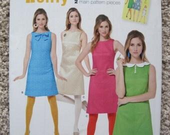 UNCUT Misses Dress - Simplicity Pattern S0591