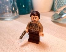 The Walking Dead Rick Grimes LEGO Minifigure MOC Art Gift