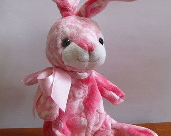 Pink Bunny Rabbit Puppet by The Puppet Patch