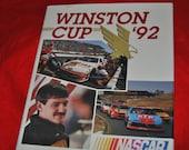WINSTON CUP '92 Nascar Season Recap Book