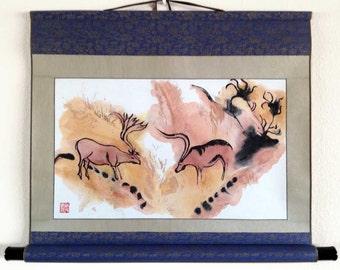 Deer Magic Scroll