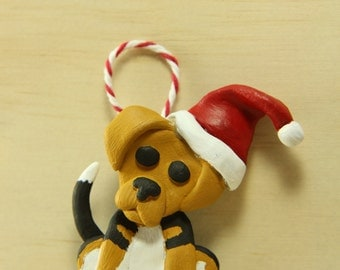 Custom Dog Christmas Ornaments - Polymer Clay