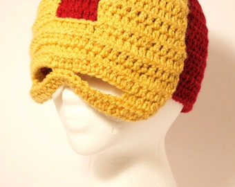Free Crochet Pattern Iron Man Hat : Popular items for crochet for men on Etsy