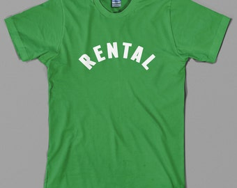 Rental T Shirt  - as worn by Frank Zappa, Paul Rudd, rock, 70s, vintage, retro - All sizes & colors available