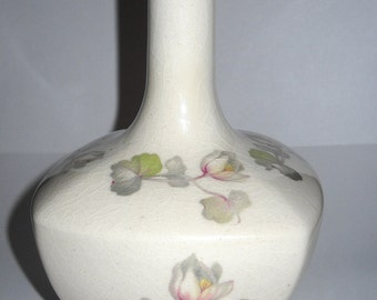 Hand Painted Tiaraware Porcelain Bud Vase, 5 inches Tall, 1980's