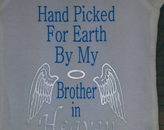 Unique Brother In Heaven Related Items Etsy