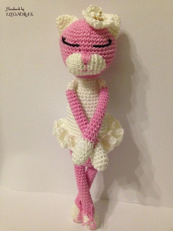 Amigurumi Cat Amineko : Amineko crochet cat ballerina princess amigurumi by ...