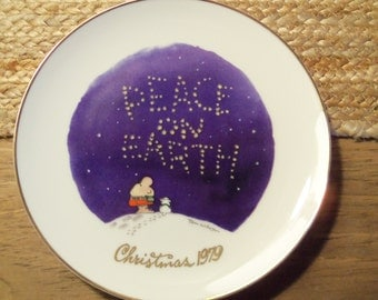 ZIGGY 1979 Collector Christmas Plate