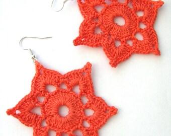 Earrings Pattern, Crochet Earrings Pattern, Two Crochet Patterns, PDF File