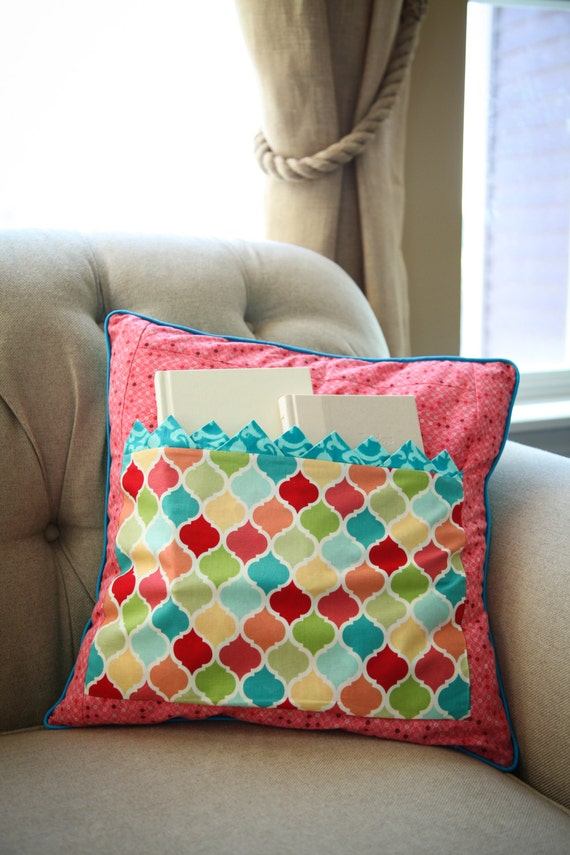 Stuffed Animal Pillows With Pockets : Pocket Pillow Travel Pillow Sleepover Pillow Gift Pillow