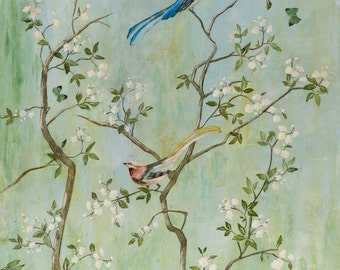 Sweet Chinoiserie - Fine Art Paper Print