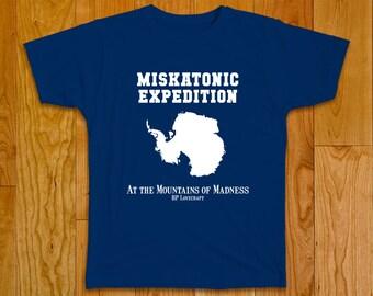 Miskatonic Expedition T-shirt, Antarctica - HP Lovecraft