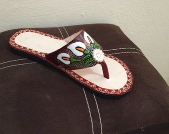 Authentic Mexican Leather Huarache Sandals