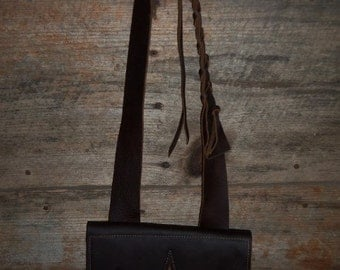 Handmade Leather Muzzleloader Possibles Bag Pouch