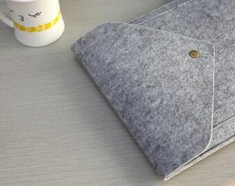 Felt Kindle Cover , Felt iPad Sleeve , Felt iPad Air Sleeve , iPad Air Smart Cover , Felt iPad Mini Case #206