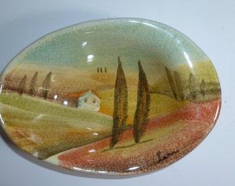 Modigliani Hand Painted Bowl