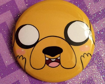 Adventure Time Jake the Dog Button