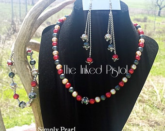 Simply Pearl Beaded Necklace