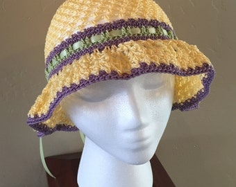 Girls Spring Sun Hat