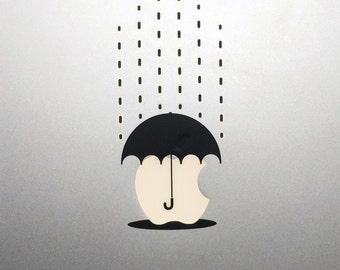 Umbrella Macbook Decal / Macbook Pro Sticker
