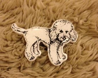 Wearable Art Brooch: Miffy