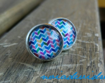 "Earrings ""zig-zag"""